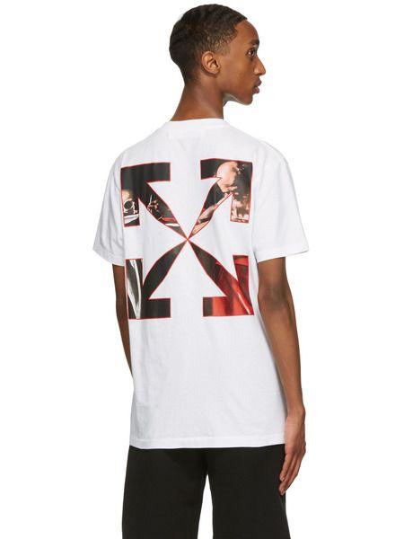 Белая футболка с принтом Караваджо