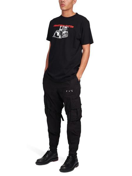 Черная футболка Dematerialization Off-White, фото