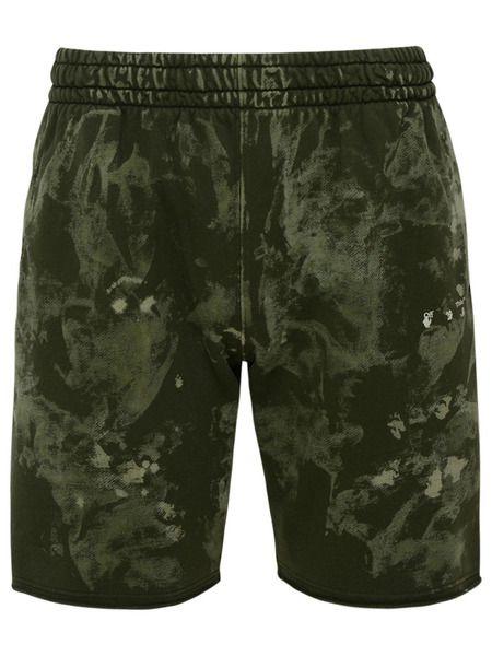 Мужские шорты зеленого цвета Off-White, фото