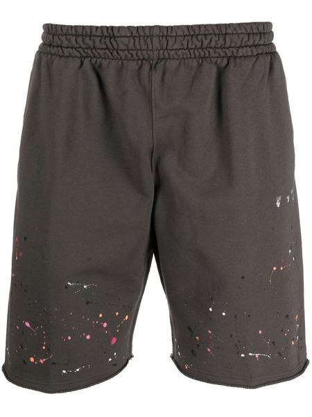 Мужские шорты Vintage с эффектом разбрызганной краски Off-White, фото