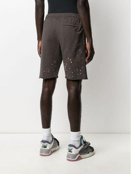 Мужские шорты Vintage с эффектом разбрызганной краски