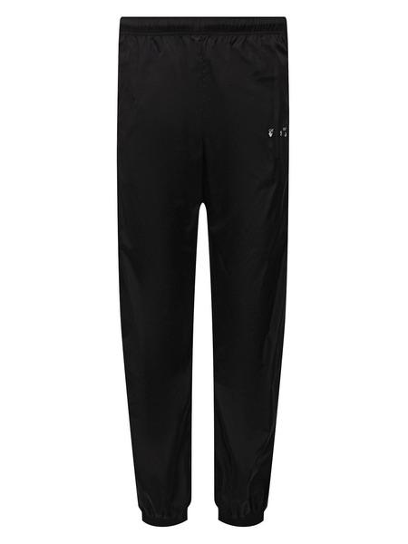 Черные спортивные брюки с логотипом Off-White, фото