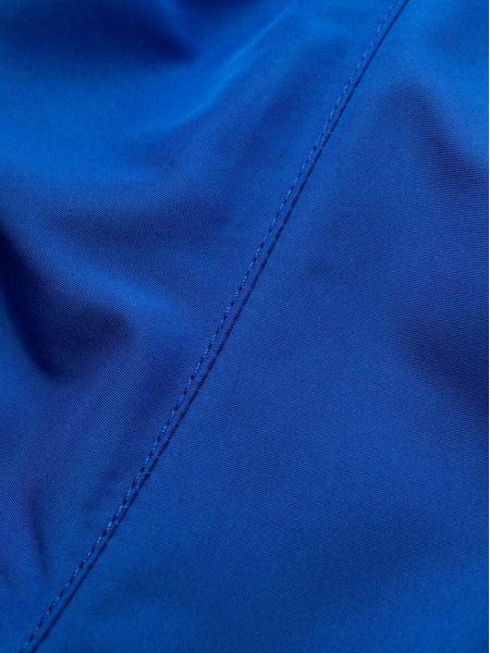 Синие плавки с логотипом