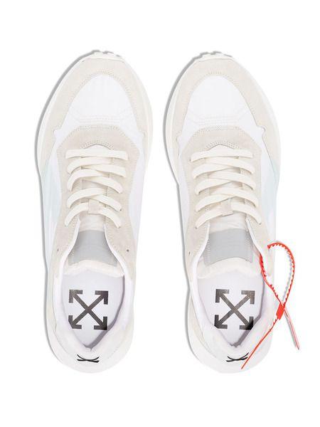 Светлые кроссовки Zip Tie с логотипом
