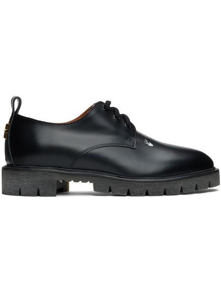 Черные кожаные туфли дерби Off-White, фото