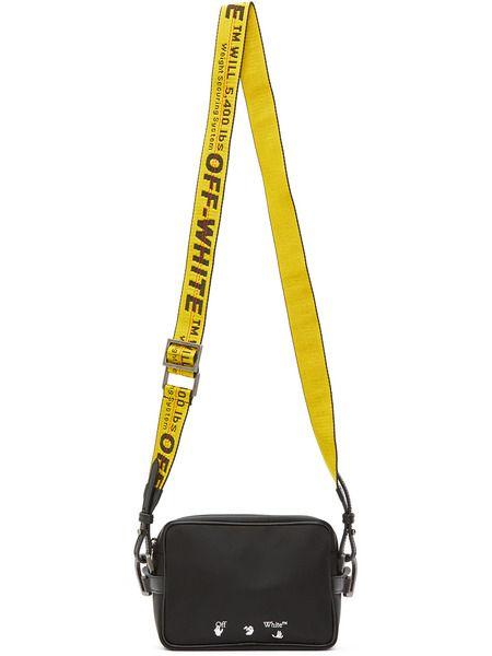 Черная сумка через плечо с логотипом Off-White фото