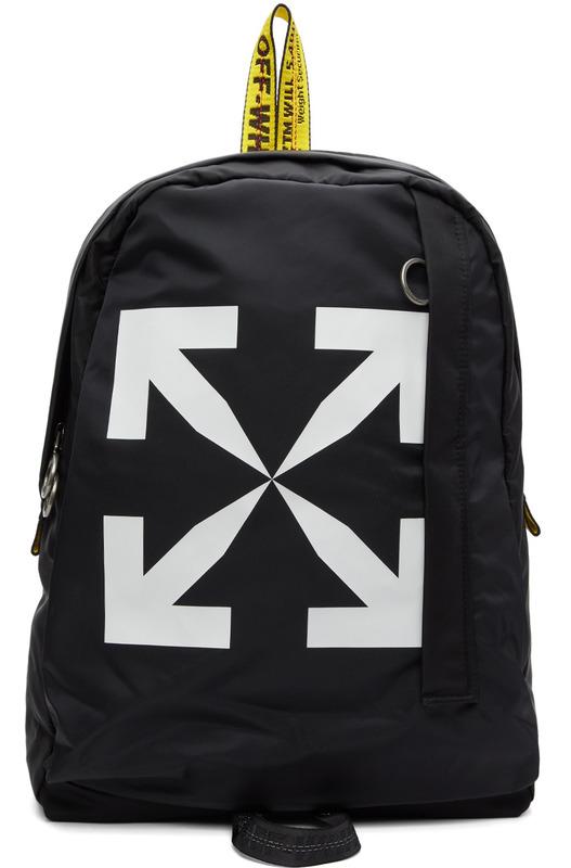 Черный рюкзак Black Arrows Off-White, фото