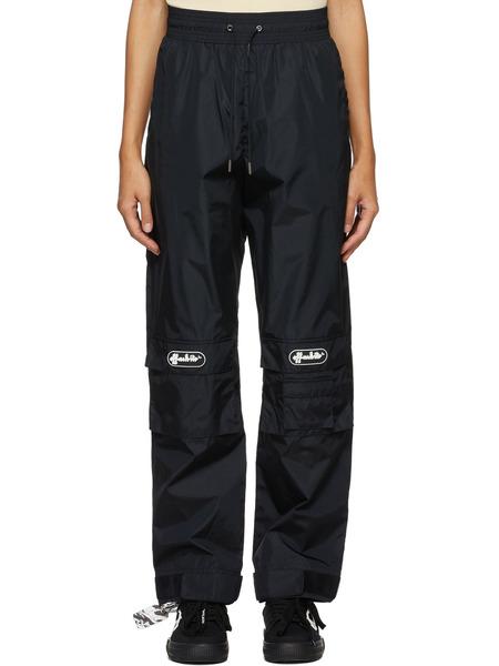 Черные брюки с нашивкой-логотипом Off-White, фото