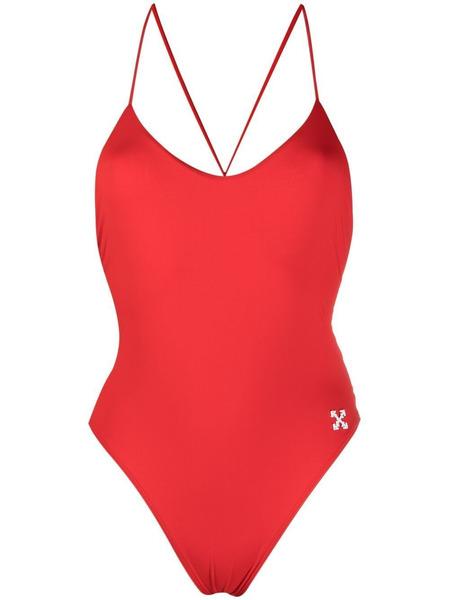 Закрытый купальник с логотипом Arrows Off-White, фото