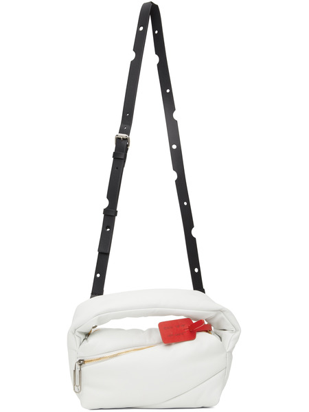 Белая сумка Pump Pouch Off-White фото
