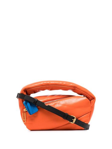 Оранжевая сумка Pump Pouch Off-White, фото