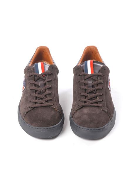 Коричневые замшевые кеды на шнуровке Rossignol, фото