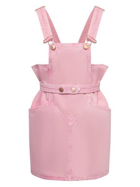 Джинсовый комбинезон светло-розового цвета Isabel Marant, фото
