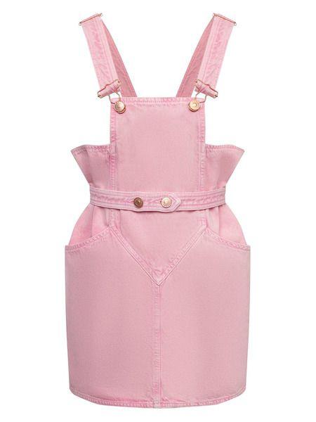 Джинсовый комбинезон светло-розового цвета Isabel Marant фото
