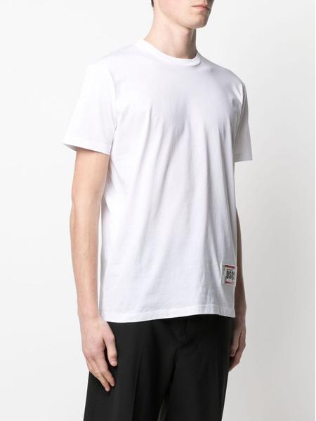 Белая футболка с нашивкой-логотипом Dsquared2, фото