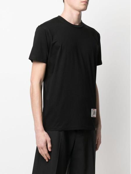Черная футболка с нашивкой-логотипом Dsquared2, фото