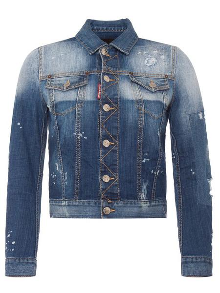 Джинсовая куртка из хлопка Shadow Dsquared2, фото
