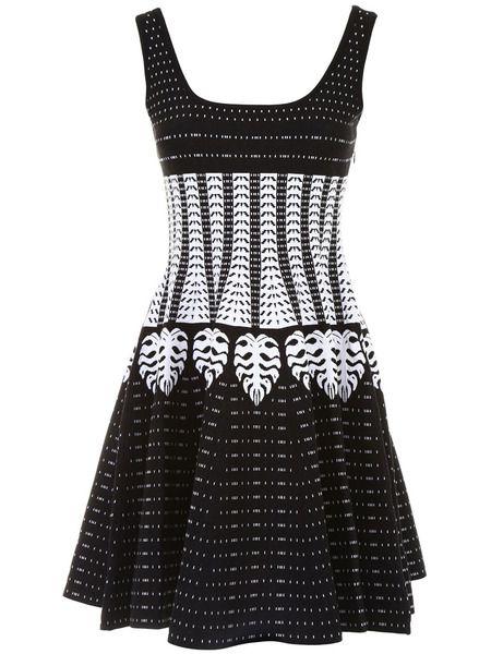 Платье с геометрическим принтом Dsquared2 фото