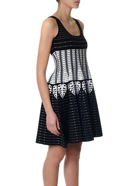 Платье с геометрическим принтом Dsquared2, фото