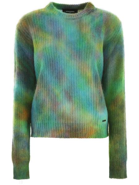 Пуловер с принтом тай-дай Tie & Dye Dsquared2, фото