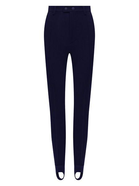 Лыжные брюки с завышенной талией со штрипками