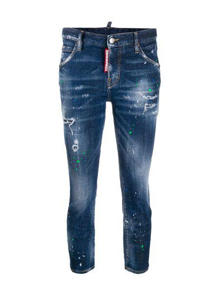 Укороченные джинсы скинни Cool Girl Dsquared2 фото