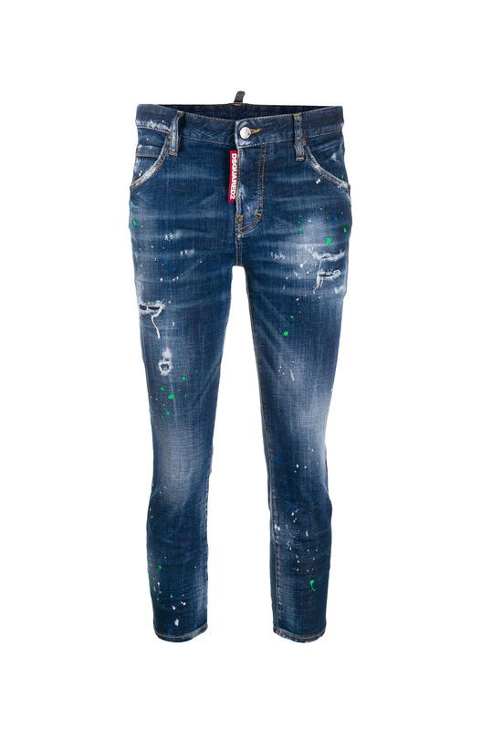 Укороченные джинсы скинни Cool Girl Dsquared2, фото