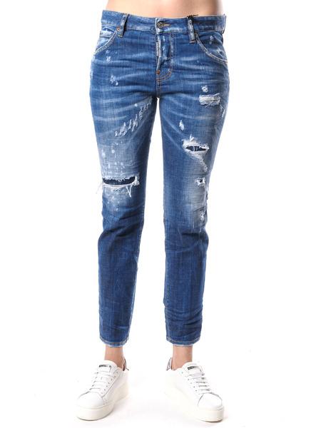 Синие джинсы Cool Girl Dsquared2 фото
