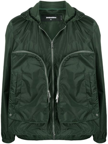 Легкая куртка с объемными карманами Dsquared2 фото