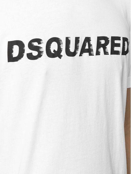 Белая футболка Classic с логотипом