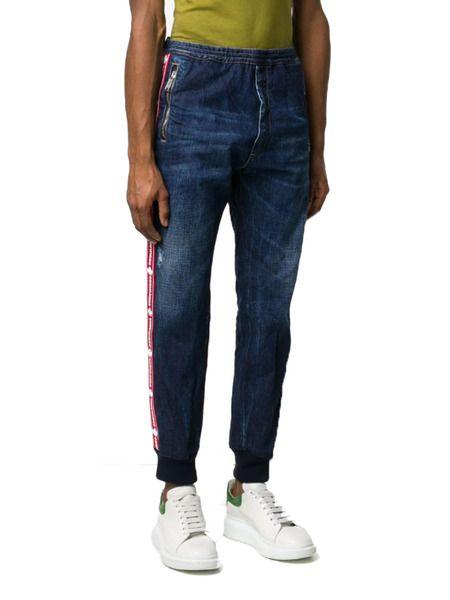 Мужские джинсы с лампасами Dsquared2 фото