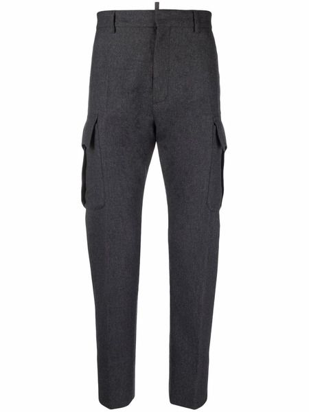 Зауженные брюки карго Dsquared2 фото