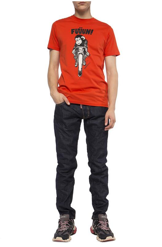 Темные джинсы Slim Jean Dsquared2
