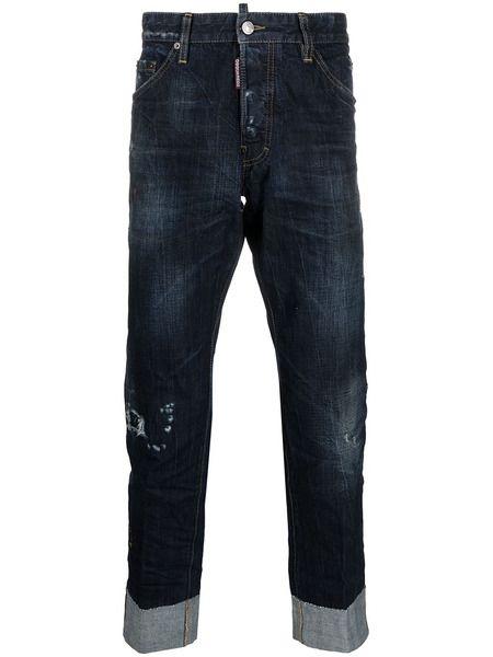 Укороченные джинсы Cool Guy Dsquared2 фото