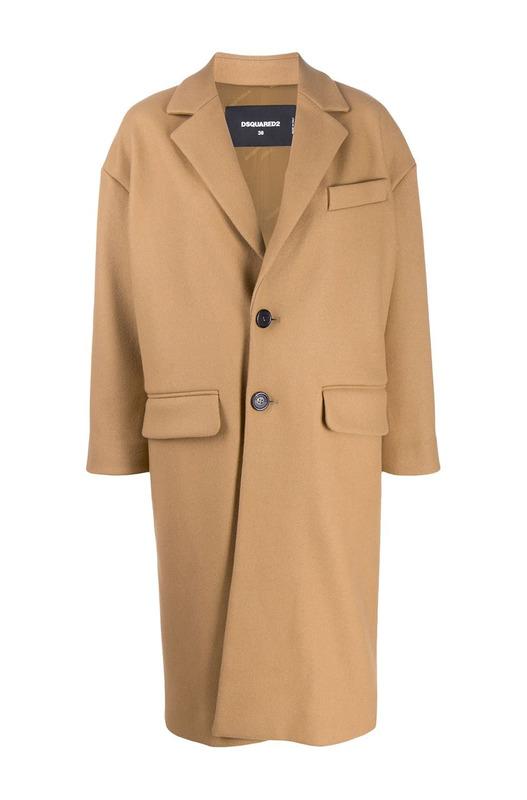 Пальто строгого кроя Dsquared2, фото