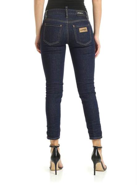 Темно-синие джинсы Cropped Twiggy Jean Dsquared2, фото
