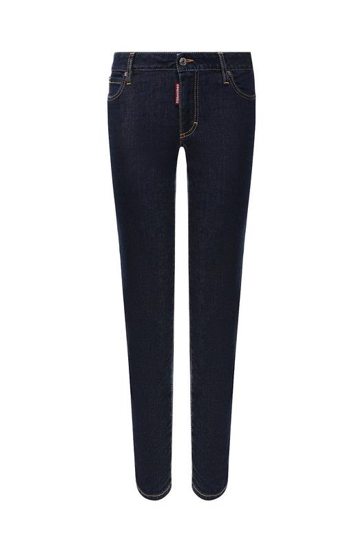 Темно-синие джинсы Cropped Twiggy Jean
