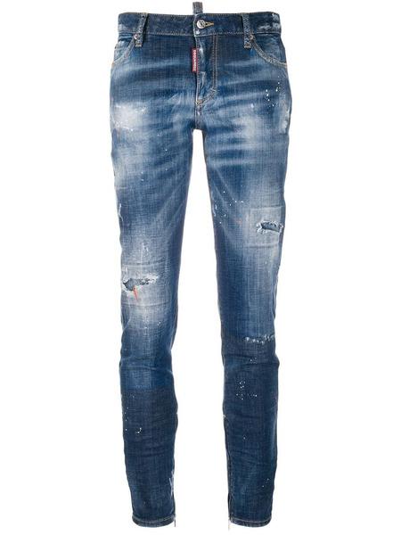 Укороченные джинсы Cool Girl Dsquared2 фото