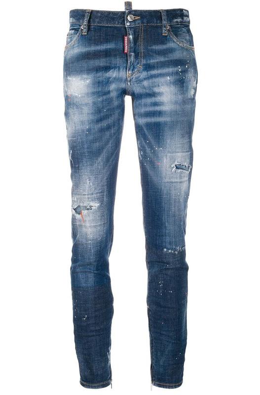 Укороченные джинсы Cool Girl Dsquared2, фото