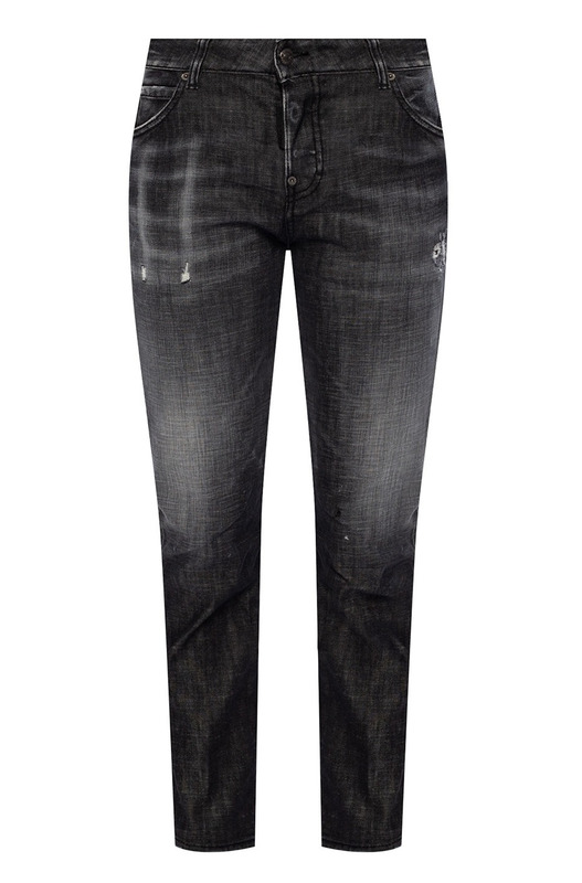 Черные джинсы с эффектом потертости Cool Girl Jean Dsquared2, фото