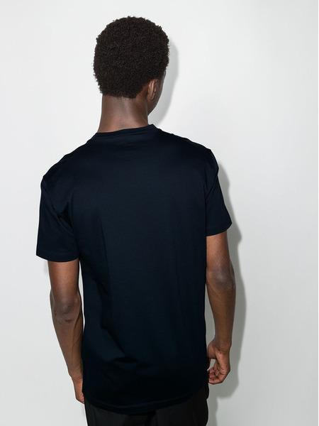 Синяя футболка с принтом Icon Dsquared2, фото