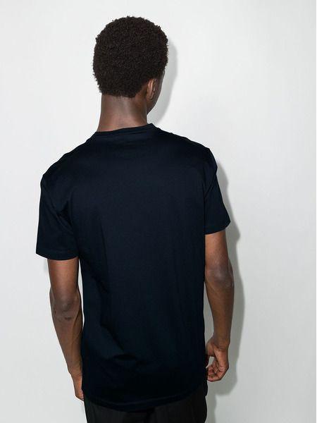 Синяя футболка с принтом Icon