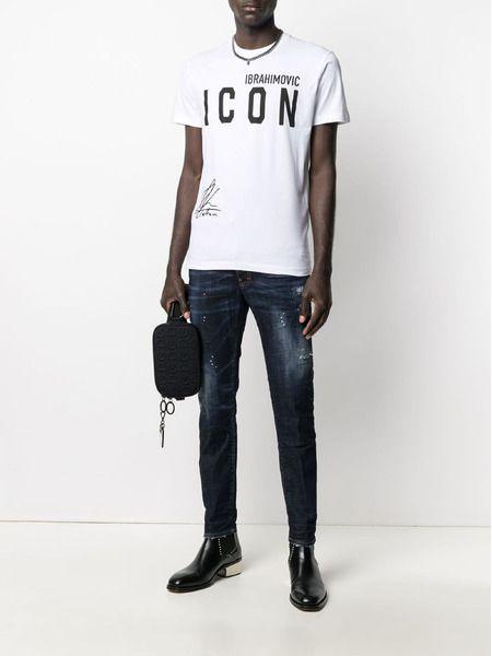 Белая футболка Icon x Zlatan Ibrahimovic