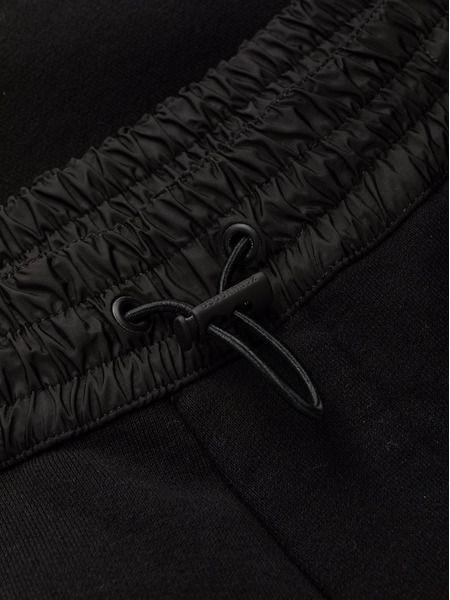 Чёрные спортивные брюки на кулиске Icon