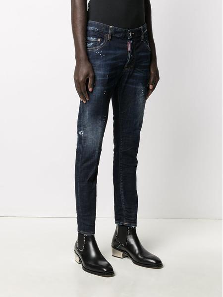 Мужские джинсы Icon Talent Skater кроя слим Dsquared2, фото