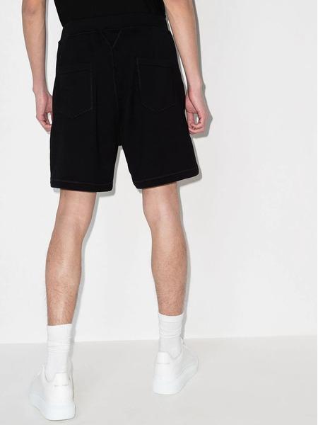 Черные спортивные шорты с логотипом Icon Dsquared2, фото