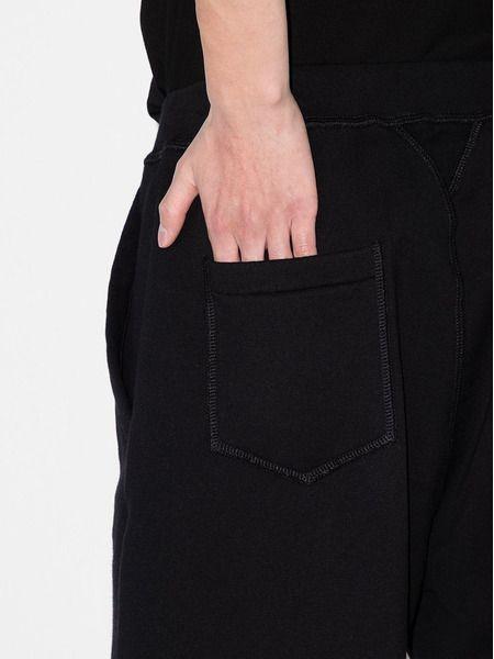 Черные спортивные шорты с логотипом Icon