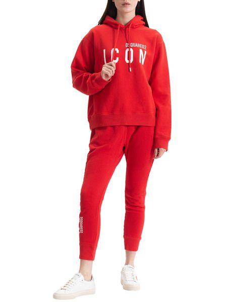 Спортивный костюм Icon красного цвета Dsquared2 фото