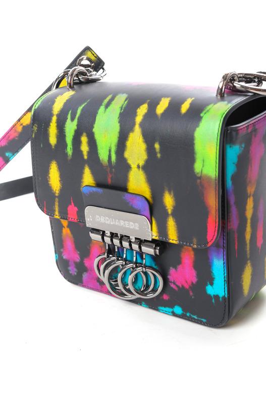 Маленькая сумка Key в стиле колор-блок Dsquared2