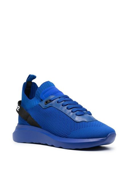 Синие кроссовки на шнуровке Speedster